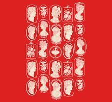 Cameos - red Unisex T-Shirt