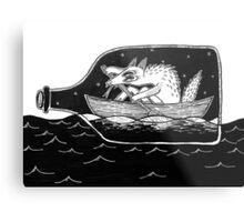 sailor dog Metal Print