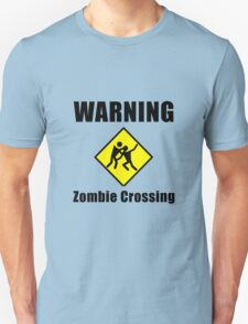 Zombie Crossing Unisex T-Shirt
