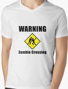 Zombie Crossing Mens V-Neck T-Shirt