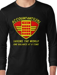 Accountantgirl Long Sleeve T-Shirt