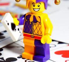 Lego Jester Sticker