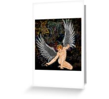 Urban Angel Greeting Card