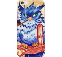 sage owl iPhone Case/Skin