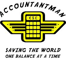 Accountantman Photographic Print
