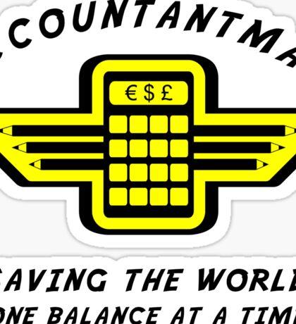 Accountantman Sticker