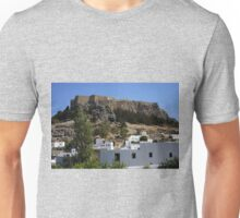 The Acropolis at Lindos Unisex T-Shirt
