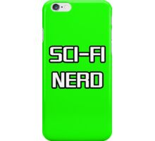 Sci Fi Nerd iPhone Case/Skin