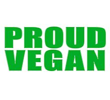 Vegetarian Vege Proud Vegan Funny Photographic Print