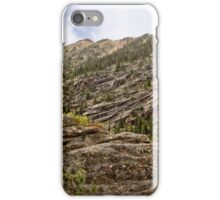 Granite Hillsides of the Cascades iPhone Case/Skin