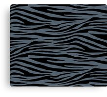 0310 Black Coral Tiger Canvas Print