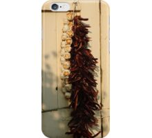 Dried Garlic and Chillies iPhone Case/Skin