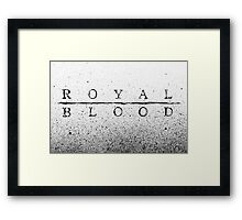 Royal Blood Framed Print