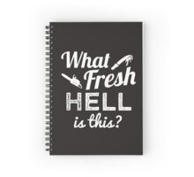 Scream Queens 'What Fresh Hell Is This?' Spiral Notebook