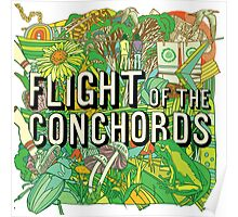 Flight of the Concords New zelands Bret Jemaine Poster