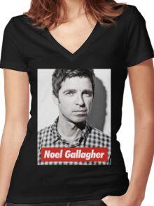 Noel OASIS Women's Fitted V-Neck T-Shirt