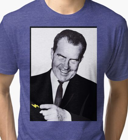 I Am Not a Crook Tri-blend T-Shirt