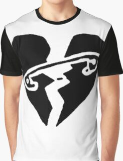 5 Seconds Of Summer Heart Logo Graphic T-Shirt