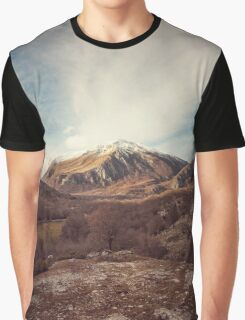 Mountains in the background XVII Graphic T-Shirt