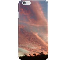 Pink Cotton Candy Clouds iPhone Case/Skin