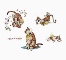calvin and hobbes characters Kids Tee