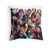 """Brian """"Q"""" Quinn collage (Throw Pillow) Throw Pillow"""