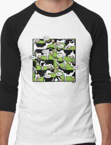 RooMoo! Men's Baseball ¾ T-Shirt