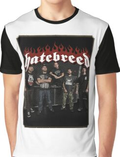HATEBREED METAL ROCK SUPREMACY MAD Graphic T-Shirt