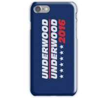frank underwood logo iPhone Case/Skin