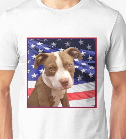 American pitbull Terrier puppy Unisex T-Shirt