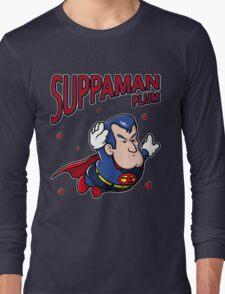Suppaman plum Long Sleeve T-Shirt