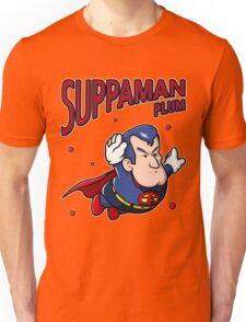 Suppaman plum Unisex T-Shirt