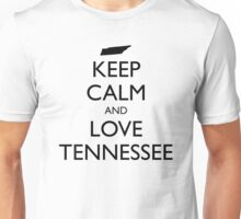 KEEP CALM and LOVE TENNESSEE Unisex T-Shirt