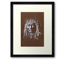 Algonquin Chief Framed Print