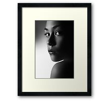 where you cannot follow Framed Print
