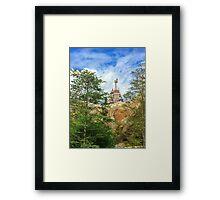 A Shining Castle Framed Print