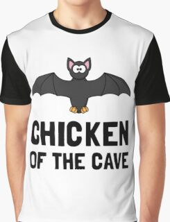 Bat Chicken Of The Cave Graphic T-Shirt