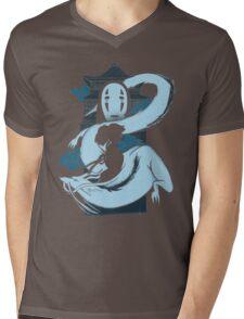 Spirit Girl Mens V-Neck T-Shirt