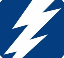 Tampa Bay Lightning Hockey Sticker