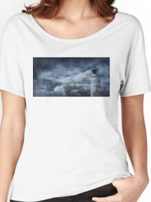 Cornish Lighthouse Women's Relaxed Fit T-Shirt