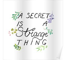 A Secret is a Strange Thing Poster