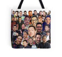 Sal Vulcano collage (Tote Bag) Tote Bag