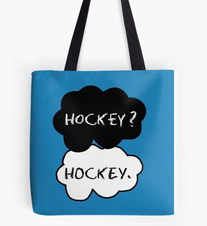 Hockey ? Hockey. Tote Bag