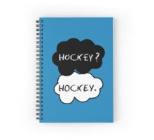 Hockey ? Hockey. Spiral Notebook