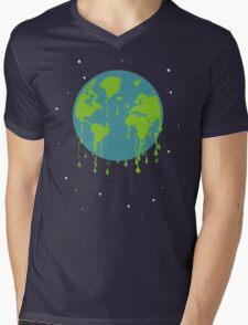 global warming tshirt Mens V-Neck T-Shirt