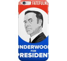 Frank Underwood T shirt iPhone Case/Skin