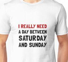 Saturday Sunday Unisex T-Shirt