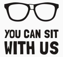 Sit With Us Kids Tee