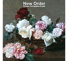 new order tee Photographic Print