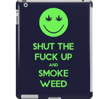 Smoke Weed iPad Case/Skin